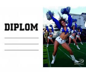 DO02m Diplom cheerleader ZDARMA